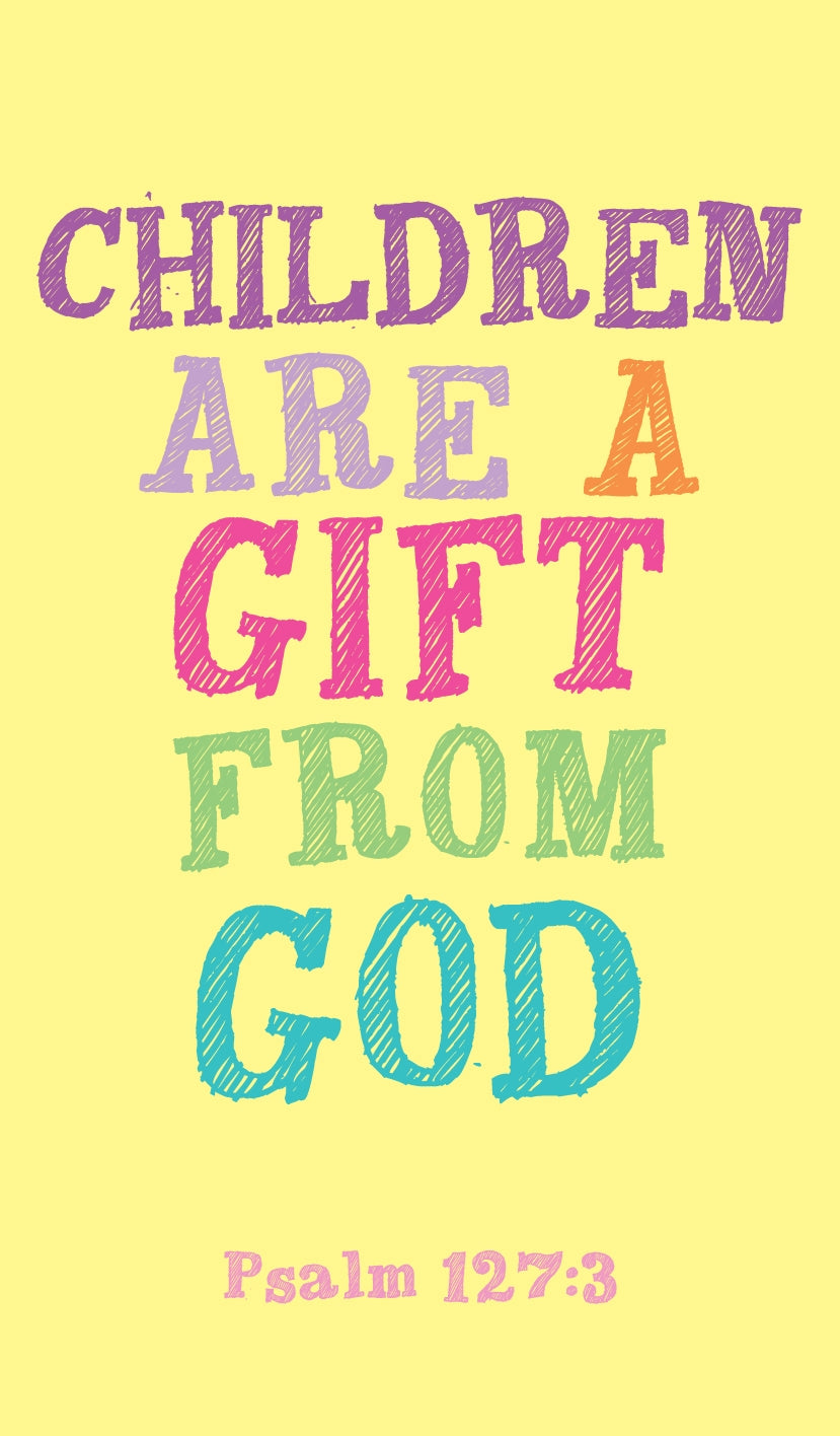 Prayer Card - Children Are A GiftPrayer Card - Children Are A Gift