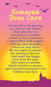 Prayer Card - Someone Does CarePrayer Card - Someone Does Care
