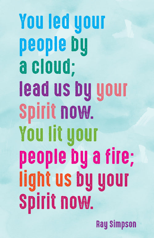Prayer Card - You Led Your PeoplePrayer Card - You Led Your People