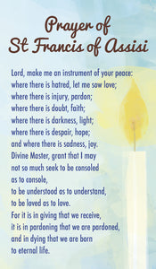 Prayer Of St Francis Of AssisiPrayer Of St Francis Of Assisi