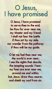 O Jesus, I Have Promised - Hymn Card  (Double Sided)O Jesus, I Have Promised - Hymn Card  (Double Sided)