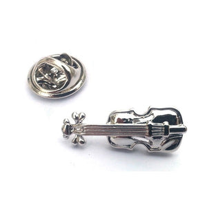 Violin Lapel Pin Badge   (X2Ajtp196)   Violin Lapel Pin Badge   (X2Ajtp196)