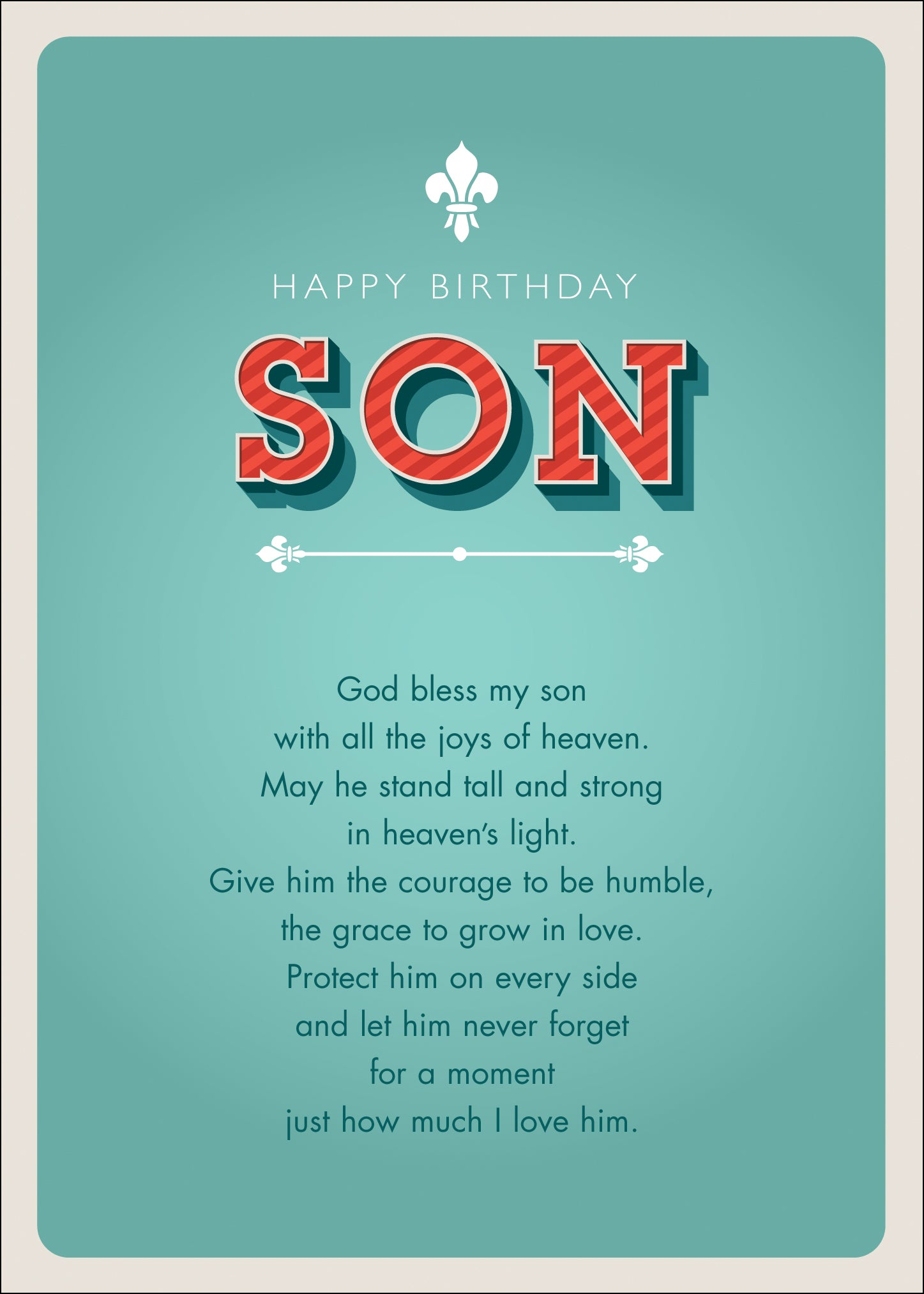 Happy Birthday - SonHappy Birthday - Son