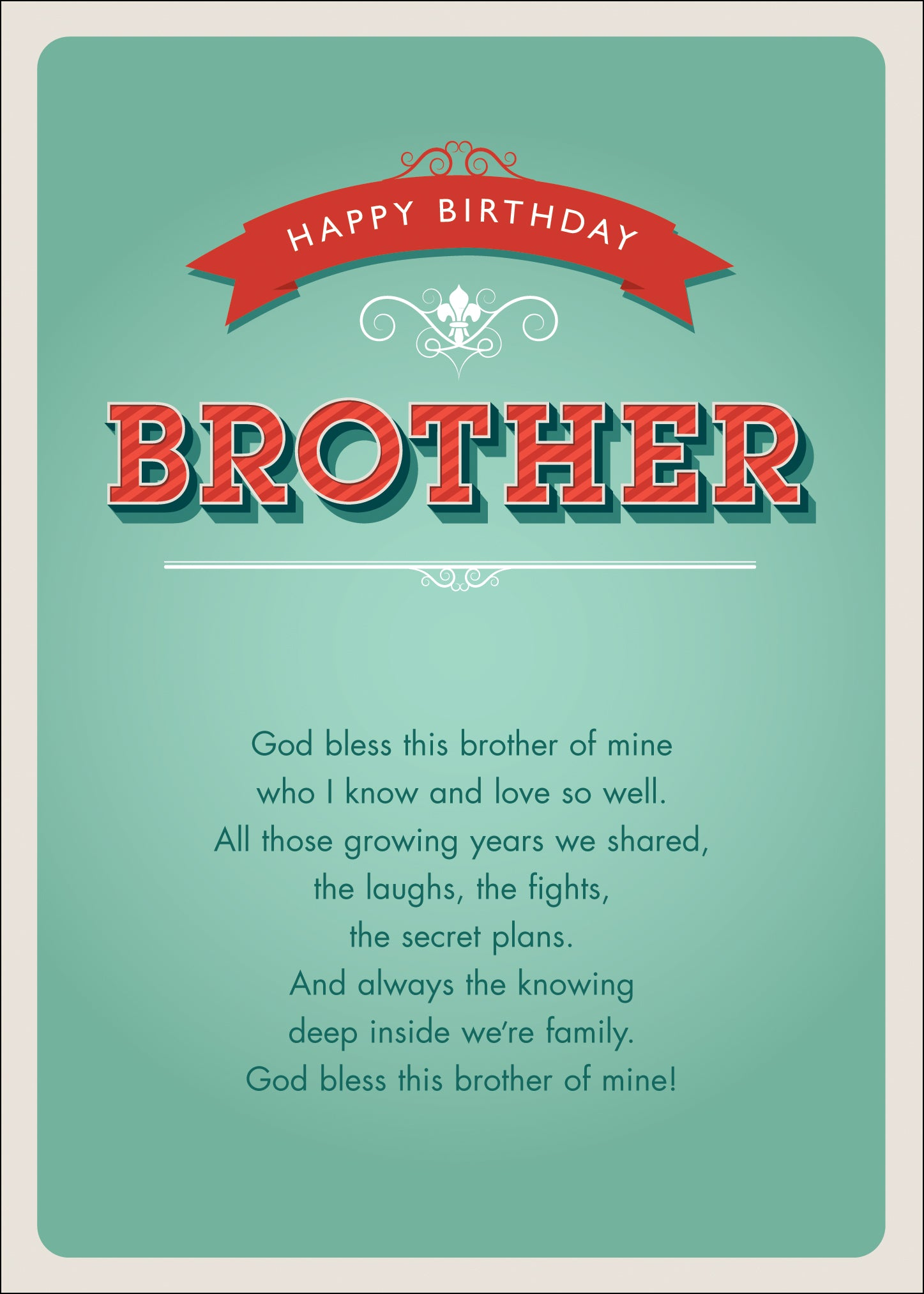 Happy Birthday - BrotherHappy Birthday - Brother