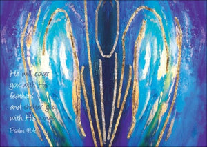 Shelter You With His Wings - Lesley HollingworthShelter You With His Wings - Lesley Hollingworth