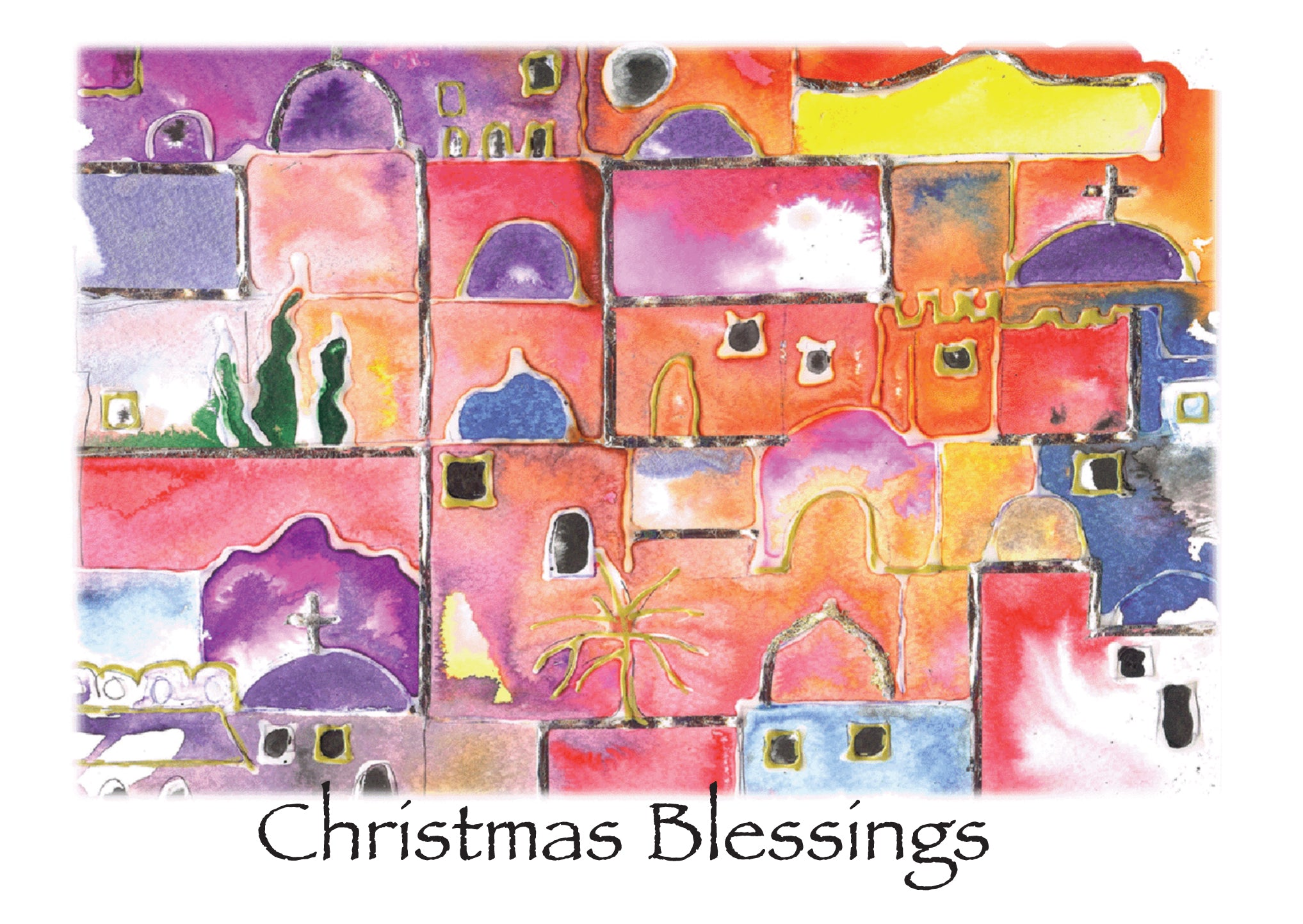 Christmas Blessings - Lesley HollingworthChristmas Blessings - Lesley Hollingworth