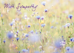 With Sympathy - Std Card GlossWith Sympathy - Std Card Gloss