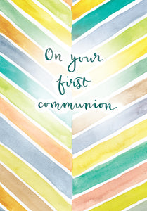 On Your First Communion- Standard CardOn Your First Communion- Standard Card