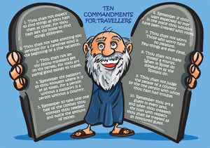 Ten Commandments For TravellersTen Commandments For Travellers