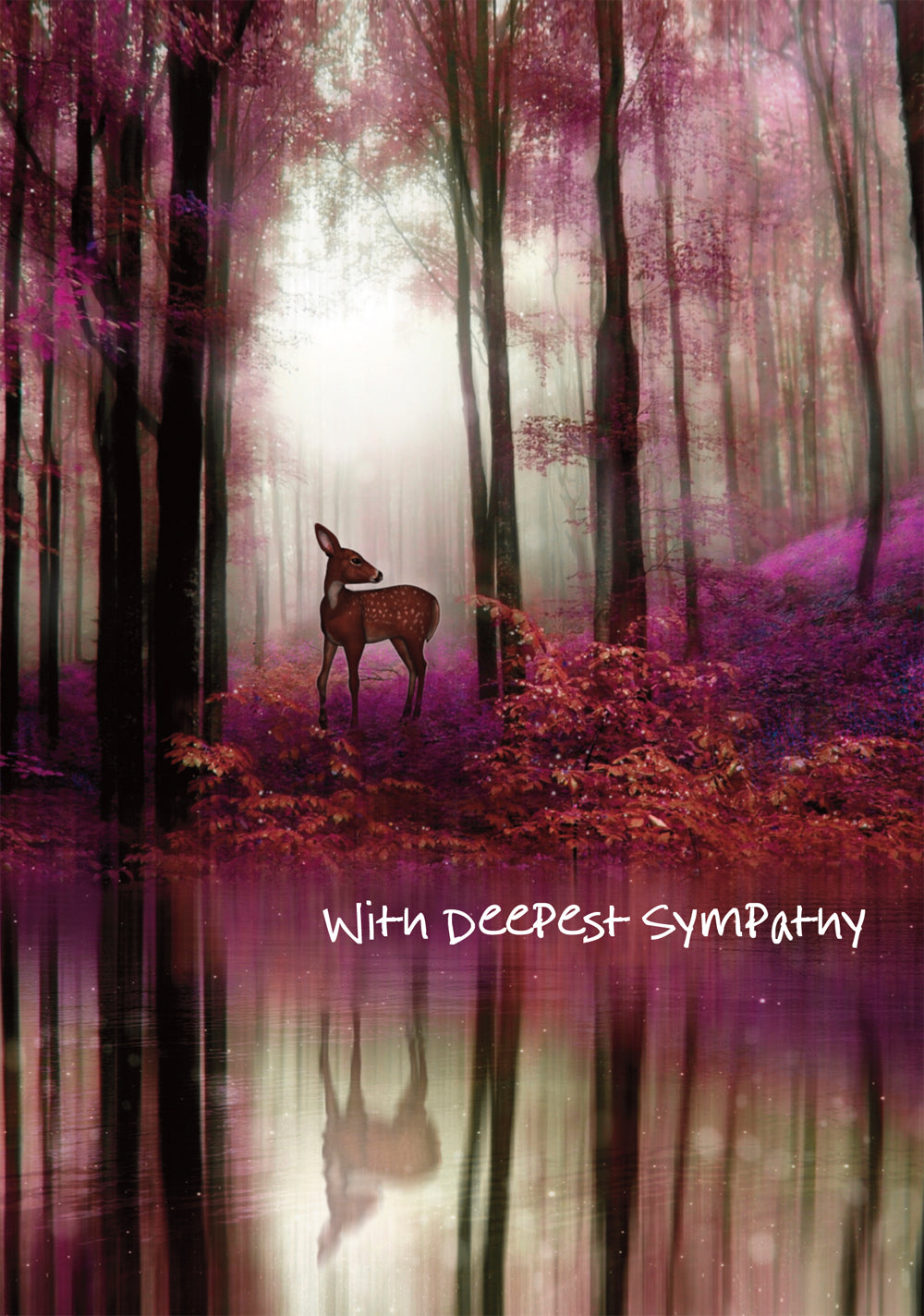 With Deepest Sympathy - DeerWith Deepest Sympathy - Deer