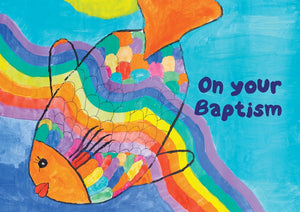 On Your Baptism  - Std Card  Waterboard (6 Pack)On Your Baptism  - Std Card  Waterboard (6 Pack)