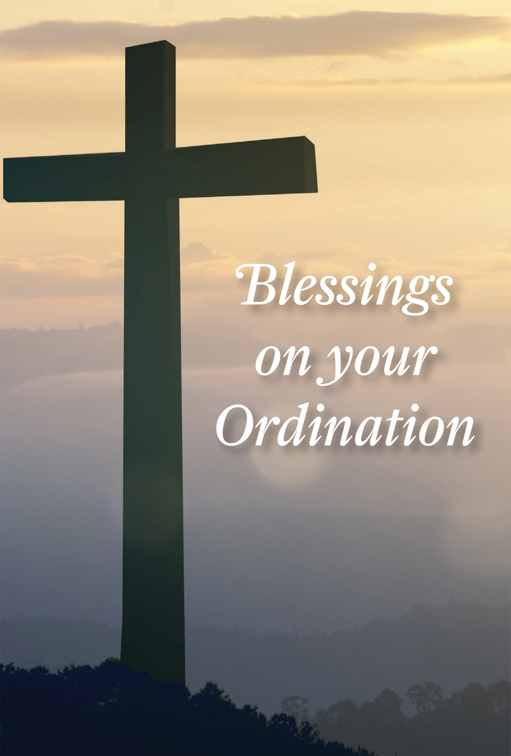On Your Ordination - Cross Std Card Gloss (6 Pack)On Your Ordination - Cross Std Card Gloss (6 Pack)