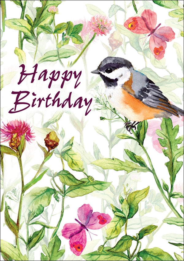 Happy Birthday Bird - Std Card Textured (6 Pack)Happy Birthday Bird - Std Card Textured (6 Pack)