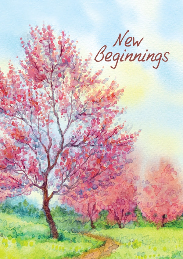 New Beginnings - Path Std Card Textured (6 Pack)New Beginnings - Path Std Card Textured (6 Pack)
