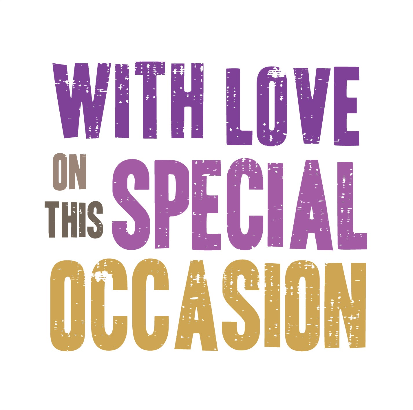 Special OccasionSpecial Occasion