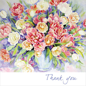 Thank You - Square Card TexturedThank You - Square Card Textured