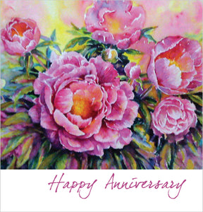 Happy Anniversary - Square CardHappy Anniversary - Square Card