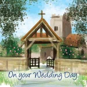 On Your Wedding Day - Square CardOn Your Wedding Day - Square Card