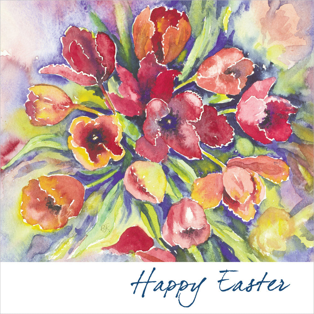 Happy Easter - Square CardHappy Easter - Square Card