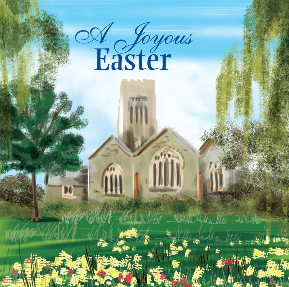 A Joyous Easter - Square CardA Joyous Easter - Square Card