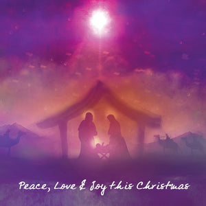 Peace Love & Joy  Set 5  - 10 PkPeace Love & Joy  Set 5  - 10 Pk