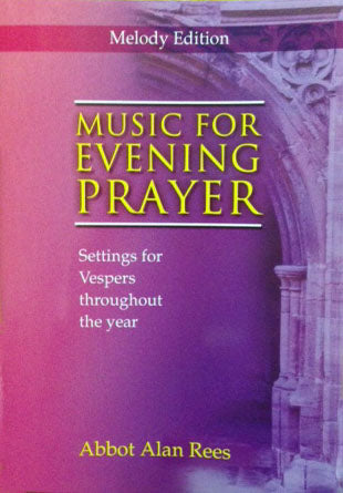 Music For Evening Prayer Melody EditionMusic For Evening Prayer Melody Edition