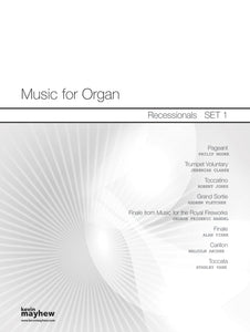 Music For Organ-Recessionals Set 1