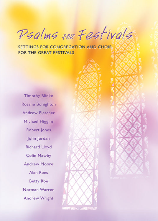 Psalms For Festivals