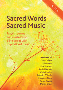 Sacred Music, Sacred Words Cd SetSacred Music, Sacred Words Cd Set