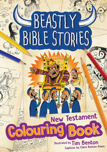 Beastly Bible Stories - Colouring Book - New TestamentBeastly Bible Stories - Colouring Book - New Testament