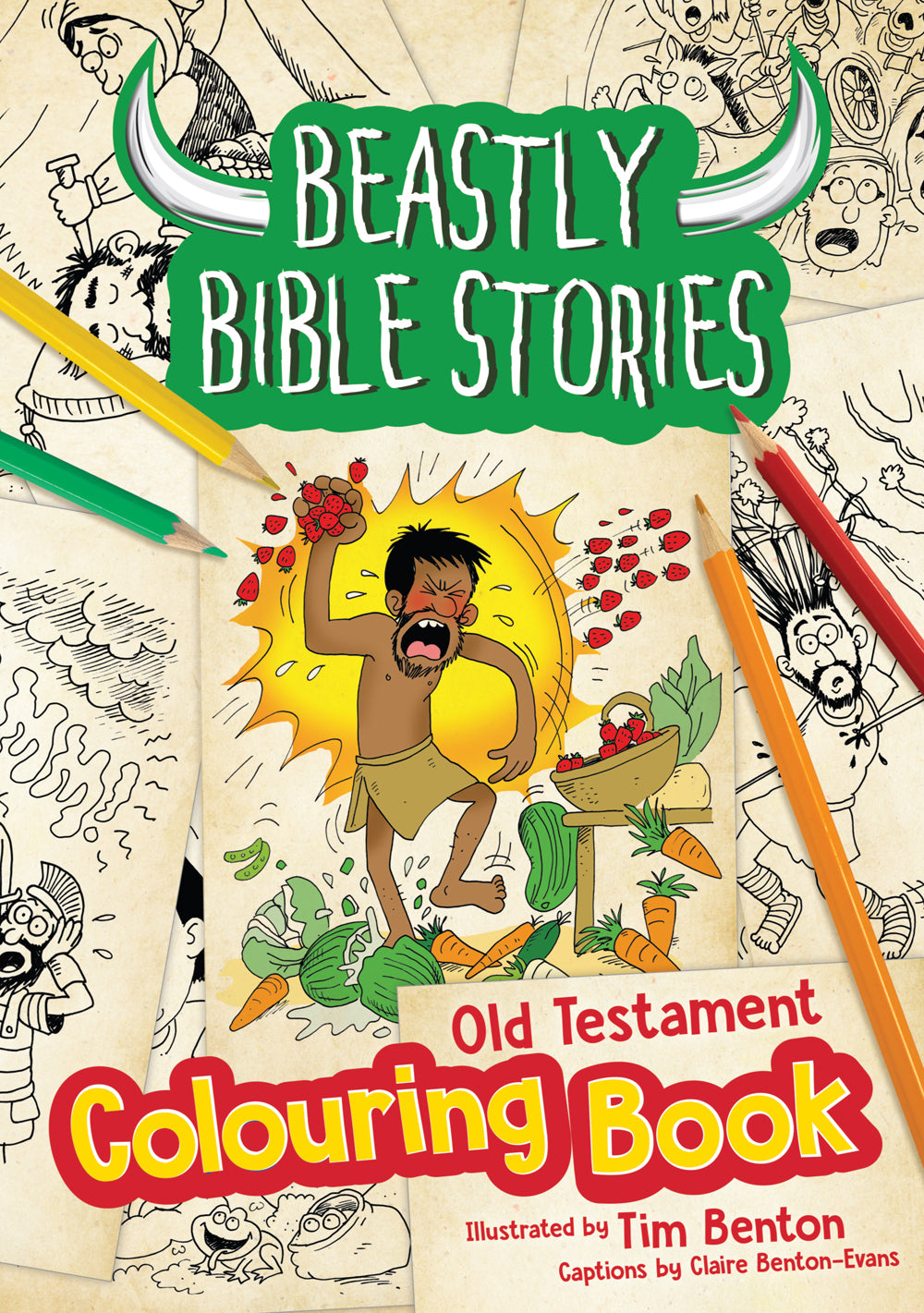 Beastly Bible Stories - Colouring Book - Old TestamentBeastly Bible Stories - Colouring Book - Old Testament