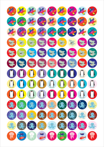 Wild Sticker Sheets
