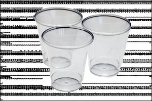 Clear Disposable Cups   (Pack Of 1000)Clear Disposable Cups   (Pack Of 1000)