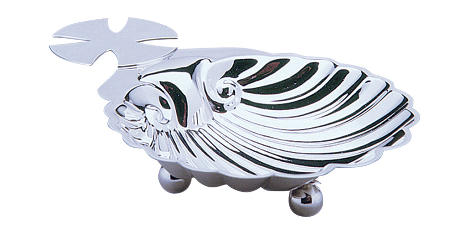 Luxury Baptismal Shell - Silver PlatedLuxury Baptismal Shell - Silver Plated