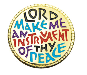 Lord Make Me An Instrument... Lapel Pin (B-43)Lord Make Me An Instrument... Lapel Pin (B-43)