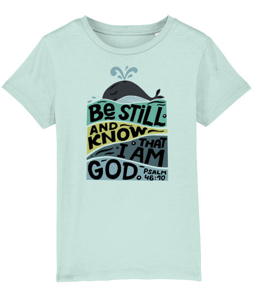 'Be Still' Whale Kids' T-Shirt