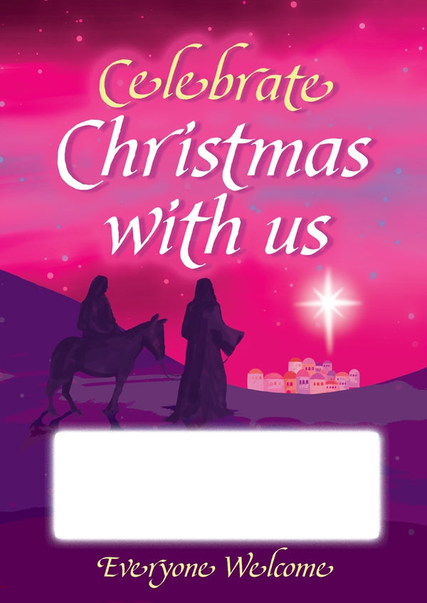Christmas Mary and Joseph PosterChristmas Mary and Joseph Poster