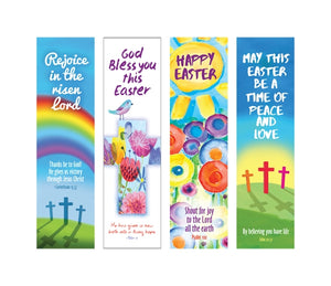 Easter Bookmarks Pack B - Packs Of 40 (4 Designs)Easter Bookmarks Pack B - Packs Of 40 (4 Designs)