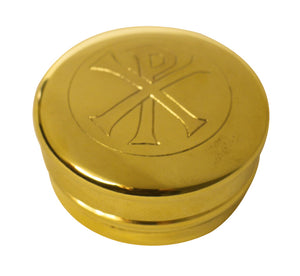 Gilt Finish Pewter Pyx  - XpGilt Finish Pewter Pyx  - Xp
