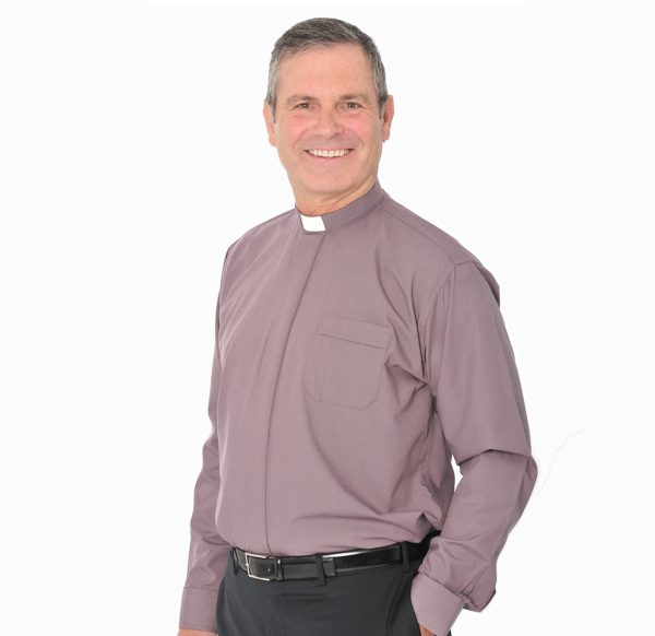 Men's Long Sleeve Shirt - 1in Slip In Collar