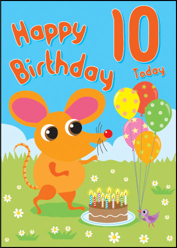 Happy 10Th Birthday ****Happy 10Th Birthday ****