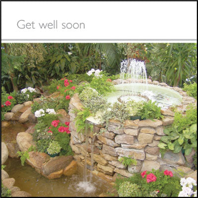 Get Well Soon **** - Square CardGet Well Soon **** - Square Card