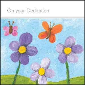 On Your Dedication - Square Card GlossOn Your Dedication - Square Card Gloss