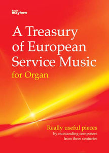 A Treasury Of European Service Music For OrganA Treasury Of European Service Music For Organ
