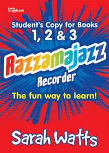 Razzamajazz Recorder Student Edition (123) 10 Pack - Revised