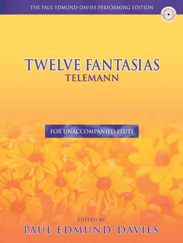 Telemann Twelve Fantasias For FluteTelemann Twelve Fantasias For Flute