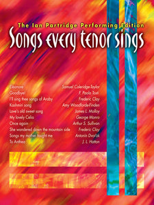 Songs Every Tenor SingsSongs Every Tenor Sings