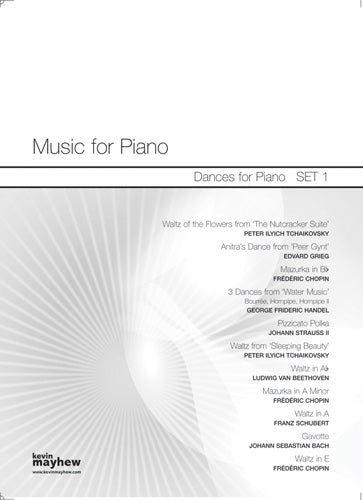 Dances For Piano Set OneDances For Piano Set One