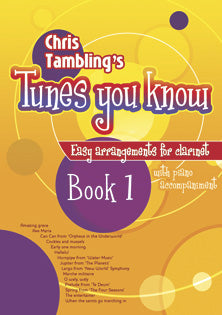 Tunes You Know Clarinet Book 1Tunes You Know Clarinet Book 1