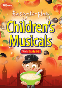Easy To Play Children'S Musicals - ViolinEasy To Play Children'S Musicals - Violin